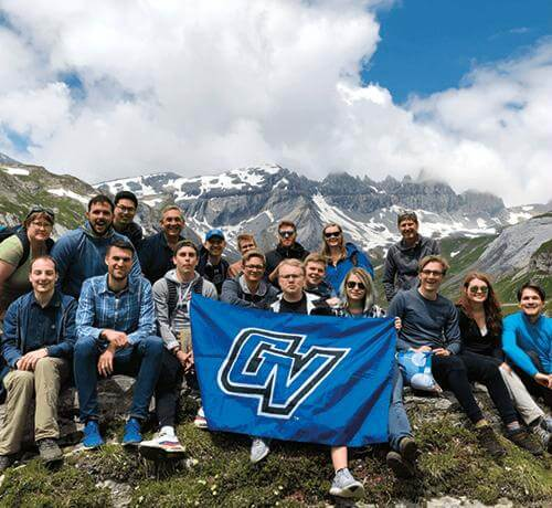 Read article Exchange program brings Swiss, Grand Valley students together
